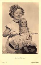 act020973 - Child Movie Star Shirley Temple Post Card Old Vintage Antique