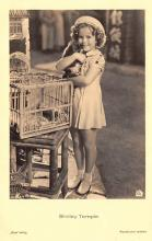 act020975 - Child Movie Star Shirley Temple Post Card Old Vintage Antique