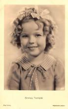 act020981 - Child Movie Star Shirley Temple Post Card Old Vintage Antique