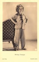 act020983 - Child Movie Star Shirley Temple Post Card Old Vintage Antique