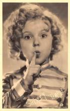 act020985 - Child Movie Star Shirley Temple Post Card Old Vintage Antique
