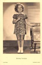 act020987 - Child Movie Star Shirley Temple Post Card Old Vintage Antique