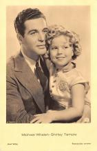 act020989 - Child Movie Star Shirley Temple Post Card Old Vintage Antique