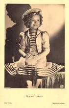 act020991 - Child Movie Star Shirley Temple Post Card Old Vintage Antique
