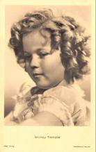 act020993 - Child Movie Star Shirley Temple Post Card Old Vintage Antique