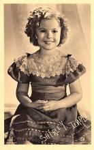 act020995 - Child Movie Star Shirley Temple Post Card Old Vintage Antique