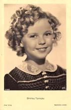 act020997 - Child Movie Star Shirley Temple Post Card Old Vintage Antique