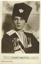act022005 - Rudolph Valentino Actor, Actress, Movie Star, Postcard Post Card