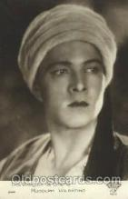 act022009 - Rudolph Valentino Actor, Actress, Movie Star, Postcard Post Card