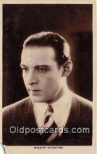 act022013 - Rudolph Valentino Movie Actor / Actress, Entertainment Postcard Post Card