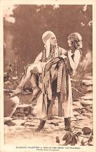 act022018 - Rudolph Valentino in Son of the Sheik with Vilma Banky Movie Star Actor Actress Film Star Postcard, Old Vintage Antique Post Card