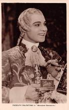 act022026 - Rudolph Valentino in Monsieur Beaucaire Movie Star Actor Actress Film Star Postcard, Old Vintage Antique Post Card