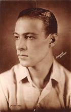 act022036 - Photograph by Abbe, Rudolph Valentino Movie Star Actor Actress Film Star Postcard, Old Vintage Antique Post Card