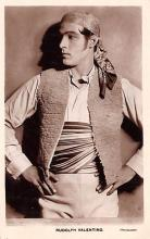 act022040 - Rudolph Valentino Movie Star Actor Actress Film Star Postcard, Old Vintage Antique Post Card