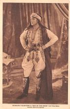 act022042 - Rudolph Valentino in Son of the Sheik with Vilma Banky Movie Star Actor Actress Film Star Postcard, Old Vintage Antique Post Card