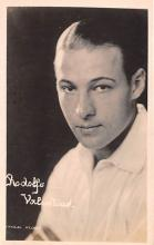 act022044 - Rudolph Valentino Movie Star Actor Actress Film Star Postcard, Old Vintage Antique Post Card
