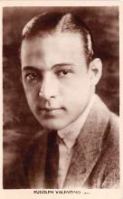 act022046 - Rudolph Valentino Movie Star Actor Actress Film Star Postcard, Old Vintage Antique Post Card