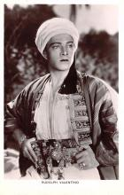act022054 - Rudolph Valentino Movie Star Actor Actress Film Star Postcard, Old Vintage Antique Post Card