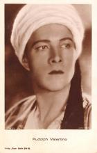 act022055 - Rudolph Valentino Movie Star Actor Actress Film Star Postcard, Old Vintage Antique Post Card