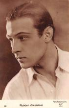 act022062 - Paramount, Rudolph Valentino Movie Star Actor Actress Film Star Postcard, Old Vintage Antique Post Card