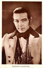 act022068 - Rudolph Valentino Movie Star Actor Actress Film Star Postcard, Old Vintage Antique Post Card