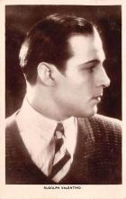 act022070 - Rudolph Valentino Movie Star Actor Actress Film Star Postcard, Old Vintage Antique Post Card