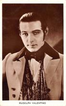 act022072 - Rudolph Valentino Movie Star Actor Actress Film Star Postcard, Old Vintage Antique Post Card