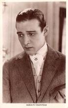 act022074 - Rudolph Valentino Movie Star Actor Actress Film Star Postcard, Old Vintage Antique Post Card