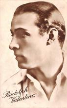 act022076 - Rudolph Valentino Movie Star Actor Actress Film Star Postcard, Old Vintage Antique Post Card