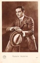 act022079 - Rudolph Valentino Movie Star Actor Actress Film Star Postcard, Old Vintage Antique Post Card
