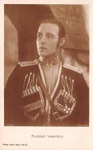 act022081 - Rudolph Valentino Movie Star Actor Actress Film Star Postcard, Old Vintage Antique Post Card
