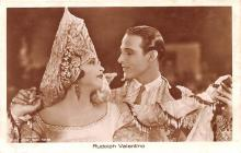 act022088 - Rudolph Valentino Movie Star Actor Actress Film Star Postcard, Old Vintage Antique Post Card