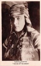 act022093 - Rudolph Valentino in Son of the Sheik with Vilma Banky Movie Star Actor Actress Film Star Postcard, Old Vintage Antique Post Card
