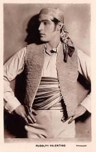 act022095 - Series 88, Rudolph Valentino Movie Star Actor Actress Film Star Postcard, Old Vintage Antique Post Card