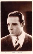 act022096 - Series 88, Rudolph Valentino Movie Star Actor Actress Film Star Postcard, Old Vintage Antique Post Card