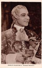 act022097 - Rudolph Valentino in Monsieur Beaucaire Movie Star Actor Actress Film Star Postcard, Old Vintage Antique Post Card
