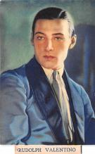 act022098 - Rudolph Valentino Movie Star Actor Actress Film Star Postcard, Old Vintage Antique Post Card