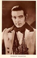 act022101 - Rudolph Valentino Movie Star Actor Actress Film Star Postcard, Old Vintage Antique Post Card