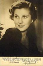 act023023 - Diana Wynyard Actor / Actress Postcard Post Card Old Vintage Antique