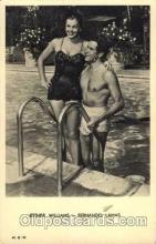 act023025 - Esther Williams & Fernando Lamas Postcard, Post Card