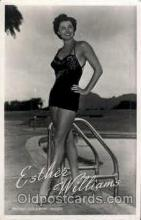 act023036 - Esther Williams Actor / Actress Postcard Post Card Old Vintage Antique