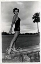 act023040 - Esther Williams Actor / Actress Postcard Post Card Old Vintage Antique