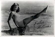 act023041 - Esther Williams Actor / Actress Postcard Post Card Old Vintage Antique