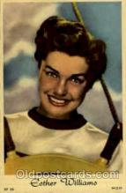 act023043 - Esther Williams Actor / Actress Postcard Post Card Old Vintage Antique