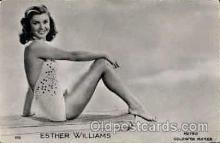 act023044 - Esther Williams Actor / Actress Postcard Post Card Old Vintage Antique
