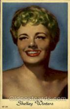 act023048 - Shelley Winters Actor / Actress Postcard Post Card Old Vintage Antique