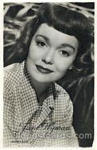 act023068 - Jane Wyman Actor, Actress, Movie Star, Postcard Post Card