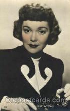 act023073 - Jane Wyman Actor, Actress, Movie Star, Postcard Post Card