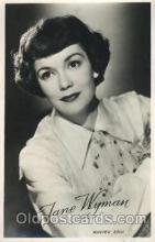 act023074 - Jane Wyman Actor, Actress, Movie Star, Postcard Post Card