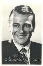 act023083 - John Wayne Actor, Actress, Movie Star, Postcard Post Card